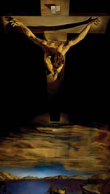 Christ of St John of The Cross. By Salvador Dali